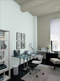 paint colours for office. Gray Home Office Ideas - Mod Paint Color Schemes Ben Moore- Storm Cloud Accent Wall \u0026 Ceiling Smoke Walls Sebring White Colours For