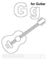 Small Picture Guitar coloring pages for adults ColoringStar