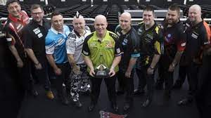 Premier league darts is a darts tournament which launched on 20 january 2005 on sky sports. Premier League Darts Michael Van Gerwen Says Tournament Will Miss Gary Anderson Merken