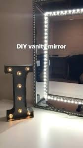 Vanity lighting strips Bath Makeup Mirror Light Strips Vanity Mirror Used Any Mirror And Led Strip Lights Home Ideas Makeup Mirror Light Strips Vanity Smartsowerclub Makeup Mirror Light Strips Vanity Lights Strip Kit For Lighted