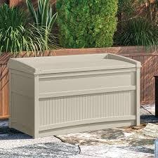 spa towel storage. Deck Boxes Patio Storage Outdoor Towel Gallon Resin Box Stand Spa