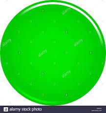 Green Glossy Button Empty Web Internet Icon Circle Empty Shape Stock