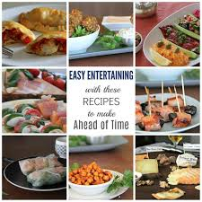 Plan ahead and discuss how to prepare and respond to the types of emergencies. Easy Entertaining With These Recipes To Make Ahead Of Time Compass Fork