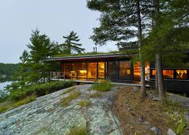 Small Picture Ian MacDonald hides Ontario island cottage within a forest Pine