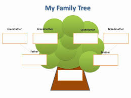 Simple Family Tree Template Stanley Tretick