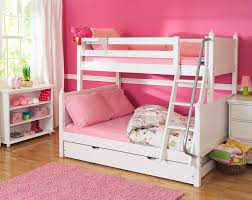 kids bedroom for twin girls.  For Simple White Bunk Design For Twin Little Girls An Open Shelves  Organizing Shoes And Some On Kids Bedroom For Twin Girls D
