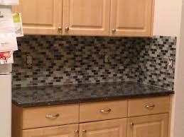 image of small kitchen design countertops and backsplash