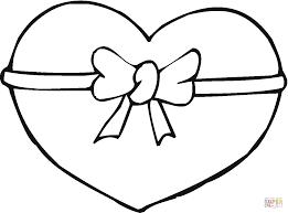 Coloriage Hibou La Saint Valentin Avec Un Coeur Coloriages Noeud