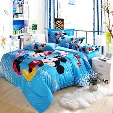 queen size minnie mouse bedding sets mouse bedding cartoon bed sheet