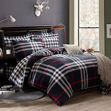 find more bedding sets information about 2016 new black white stripes and check plaids plain
