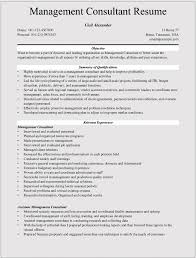 Management Consultant Resume Template