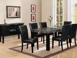perfect dining table sets black lovely small dining room chairs awesome chic black dining room table