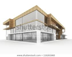 Modern office architecture design Front Desk Design Of Modern Office Building Architects And Designers Computer Generated Visualization Archello Design Modern Office Building Architects Designers Stock