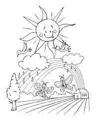 Free Coloring Sheets For Spring Coloring Free Printable Coloring