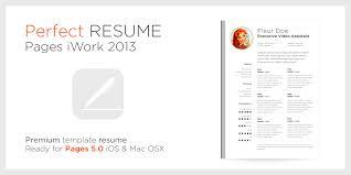 Resume Resume Template Apple
