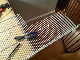 install your wire shelving