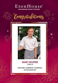 Congratulations to Mary Richter for... - EtonHouse International ...
