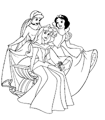 Small Picture Printable Coloring Pages Princess Coloring Home