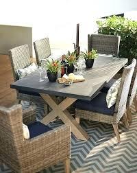 patio furniture dining sets rectangular table chairs home depot aluminum ta