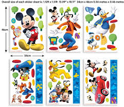 disney mickey mouse clubhouse wall stickers sheet wall stickers by wallmurals ie