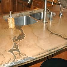 image of concrete countertop stain colors