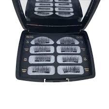 3D <b>Magnetic Eyelashes</b> Thick Cross Long Full Strip Eye <b>Lashes</b> ...