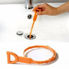 new plastic sink drain dredge pipeline hook unclog tub snake brush