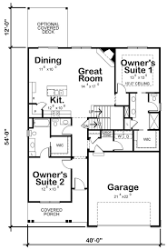 Container house office floor plan house plan with loft cabins and cottages house how to plan guest cottage guest house small tiny house plans. 10 Small House Plans With Open Floor Plans Blog Homeplans Com