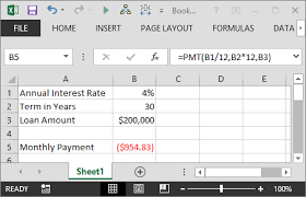 loan formulas calculate the payment of a loan with the pmt function in excel
