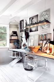 white airy home office. stylish scandinavian home office designs white airy