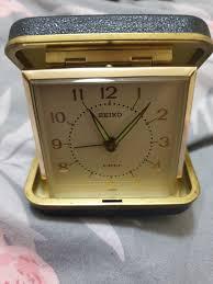 vintage seiko travel alarm clock vintage collectibles vintage watches jewelry on carou