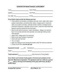 Subcontractor Agreement Format Sample Maintenance Contract Subcontractor Agreement Template