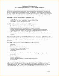 Sample Resume For Graduate School Application Graduate School Resume Sample Objective Template Program Samples 19