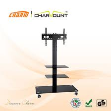 high quality 3 tier tempered glass tv stands ct ftvs f203b pictures