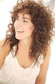 Hairstyles Shag Haircuts For Curly Hair Striking 15 Best Of Shaggy
