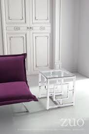 stainless steel modern furniture. Geranium Side Table (Polished Stainless Steel) Steel Modern Furniture R