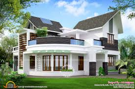 Modern 3 Bedroom House Design Beautiful Unique House Kerala Home Design And Floor Plans