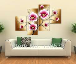 metal wall art set of 4 captivating piece gallery ethnic abstract rustic multi panel four brown