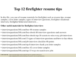 Fire Chief Cover Letter Sarahepps Com