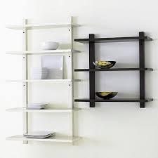 Wall Mounted Kitchen Rack Cabinets Storages Dark Brown Oak Wooden Wall Mount Spice Racks