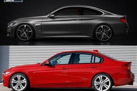 bmw 2014 3 series coupe. Interesting Coupe BMW F30 Vs F32 Image 1024x7671 750x500 The 2013 3 Series  For Bmw 2014 Coupe