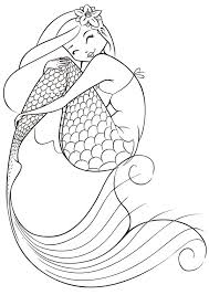 Free Printable Coloring Pages For Girls Mermaid And Dolphins