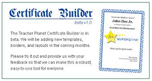Volunteer Certificates Certificates 4 Teachers Language Arts Awards Certificates
