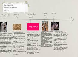 Design Eras Timeline Era Timeline Text Images Music Video Glogster Edu