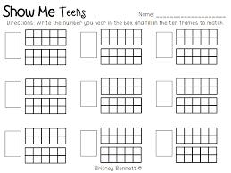 Teen Number Assessment.pdf | Maths2 | Pinterest | Teen numbers ...