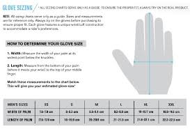 Youth Dirt Bike Glove Size Chart Thor Sizing Charts Motorcycle Stuff