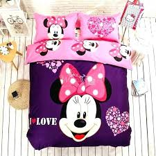 Minnie Mouse Bed Set Full Mouse Full Size Bed In A Bag Mouse Bed ...