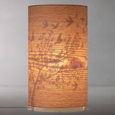 wood veneer lighting. BuyJohn Lewis Flock Birds Wood Veneer Table Lamp Online At Johnlewis.com Lighting N
