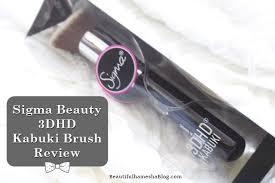 sigma beauty 3dhd kabuki brush review sigma beauty 3dhd kabuki brush sigma kabuki brush
