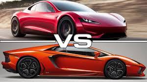 lamborghini car 2020. 2020 tesla roadster vs 2017 lamborghini aventador s car n